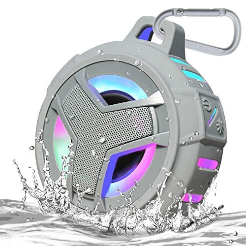 EBODA Shower Bluetooth Speaker, IPX7 Waterproof Portable Floating Speaker with Loud HD Sound, TWS...