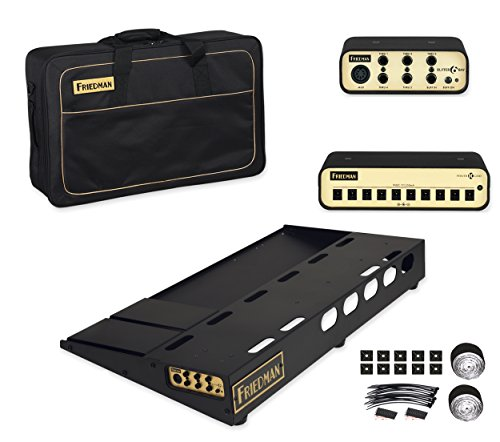 Friedman Amplification Tour Pro 1530 Platinum Pack 15' x 30' Pedal Board with Riser, Professional...