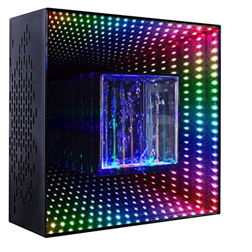 Bluetooth Water Speaker,Wireless Speakers with LED Lights,Dual 2.1 Channel Stereo Sound, Portable...