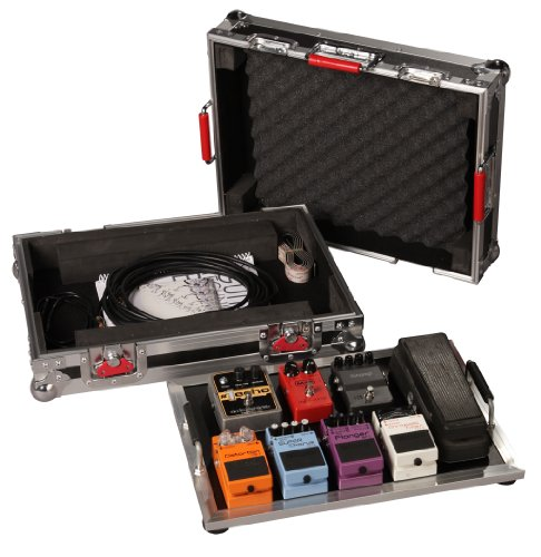 Gator Cases G-TOUR Series Guitar Pedal board with ATA Road Case; Small: 17' x 11' (G-TOUR...