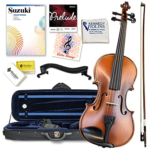 Antonio Giuliani Etude Violin Outfit 4/4 Full Size Clearance By Kennedy Violins - Carrying Case and...
