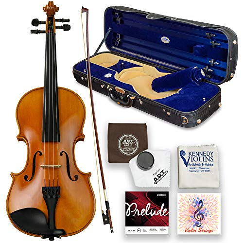 Louis Carpini G2 Violin Outfit 4/4 Full Size - Carrying Case and Accessories Included - Highest...
