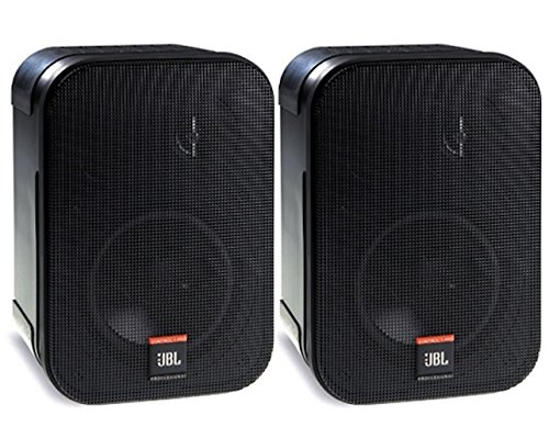 JBL Professional C1PRO High Performance 2-Way Professional Compact Loudspeaker System, Black , Sold...