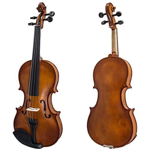 SKY(Paititi) 1/4 Size SKYVN102 Student Violin with Lightweight Case, Brazilwood Bow, Shoulder Rest,...