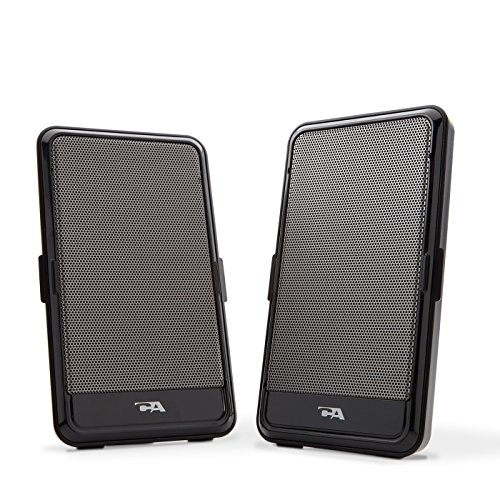 2.0 Portable USB computer speaker - perfect for laptop music, movies or gaming on the go, by Cyber...
