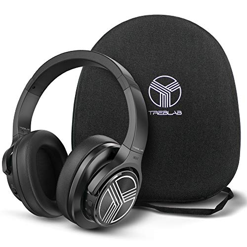 TREBLAB Z2 | Over Ear Workout Headphones with Microphone | Bluetooth 5.0, Active Noise Cancelling...