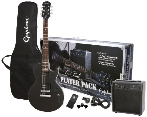 Epiphone Les Paul Electric Guitar Player Pack (Ebony)