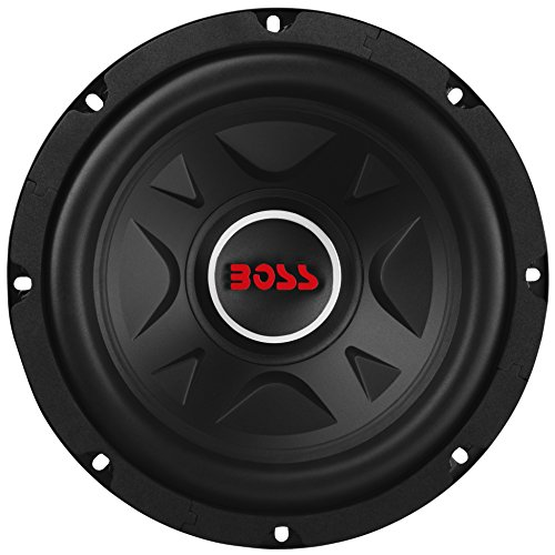 BOSS Audio Systems Elite BE8D 8 Inch Car Subwoofer - 600 Watts Maximum Power, Dual 4 Ohm Voice Coil,...