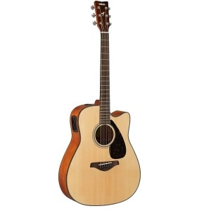 yamaha fgx800c review solid top acoustic electric for under 300. Black Bedroom Furniture Sets. Home Design Ideas