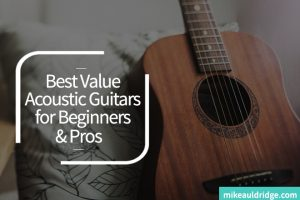 The Best Value Acoustic Guitars of 2017 for Beginners & Pros