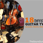 18 Different Guitar Types - Acoustic, Electric, Small, Bass