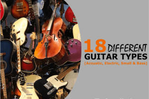 A Guide to Different Types of Acoustic, Electric, Bass & Small Guitars