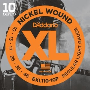 D'Addario EXL110-10P - best electric guitar strings