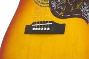 Ephiphone Hummingbird Pro Guitar close up