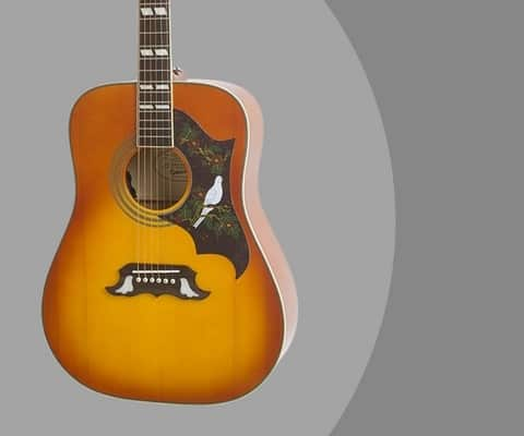 Epiphone DOVE PRO Solid Top Acoustic Electric