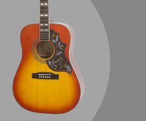 Epiphone HUMMINGBIRD PRO Solid Top Acoustic Electric