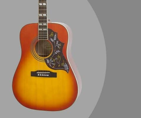Epiphone PRO Hummingbird & Dove Electric Acoustic Guitar Review