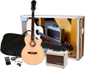 Epiphone PR-4E Acoustic Electric Guitar Package