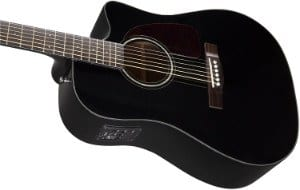 Fender CD 140 SCE Guitar in Black