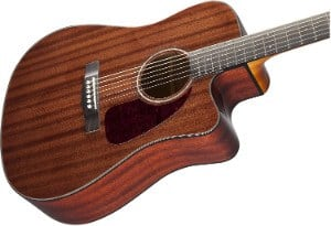 Fender CD 140SCE Guitar in Mahogany