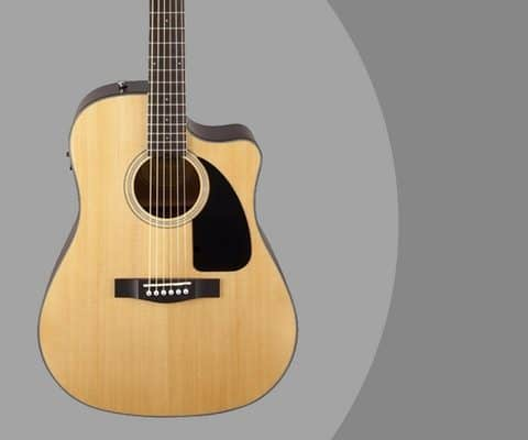Fender CD-60CE Dreadnought Cutaway Acoustic-Electric Guitar Review