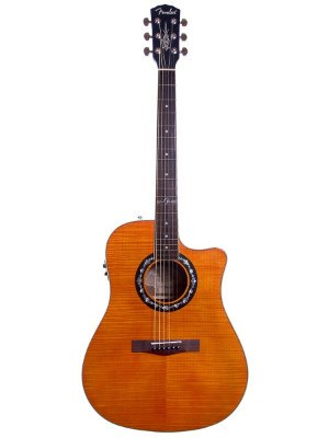 Fender T Bucket 300CE Guitar in Maple Color