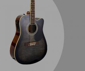 Glen Burton Acoustic Electric Cutaway