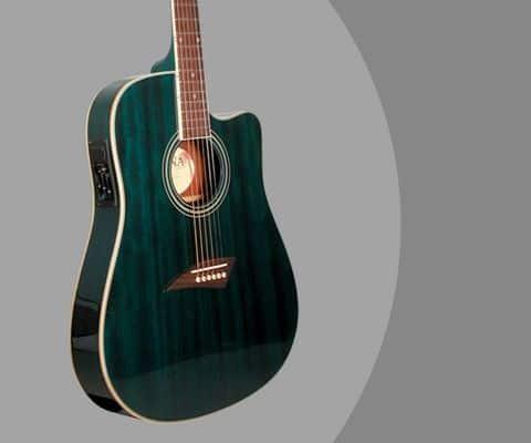 kona guitar review k2tbl dreadnought cutaway guitar. Black Bedroom Furniture Sets. Home Design Ideas