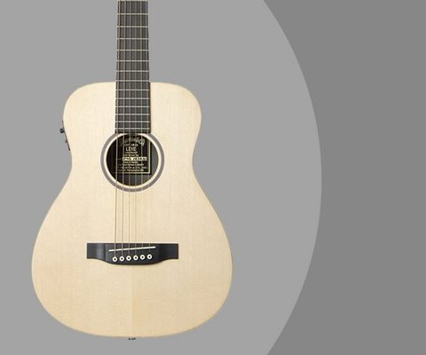 LX1E Little Martin Acoustic Electric Travel Guitar Review