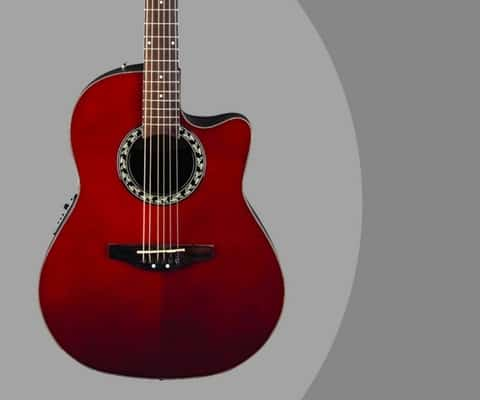 Ovation Ab24 Rr Review Balladeer Acoustic Electric Cutaway Guitar
