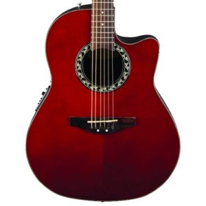 Ovation Applause Guitar Red