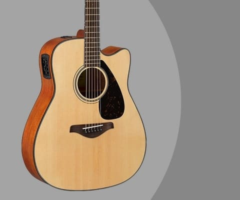 Yamaha Fgx800c Review Solid Top Acoustic Electric For Under 300