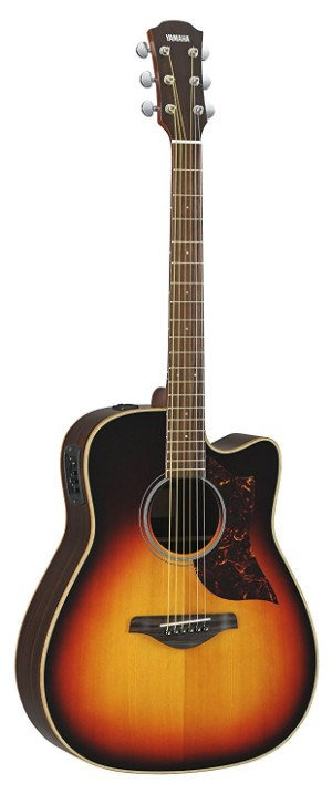 yamaha a3r review a series acoustic electric guitar top quality gear. Black Bedroom Furniture Sets. Home Design Ideas