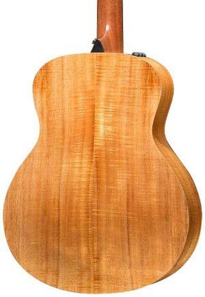 back of Taylor GS mini-e koa guitar