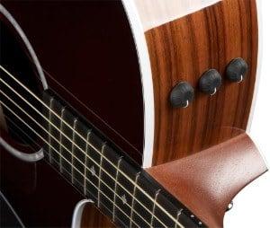 close up of Taylor 214ce Guitar