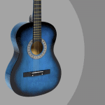 Blue Best Choice Beginners 38'' guitar