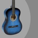 Blue Best Choice Beginners 38'' guitar