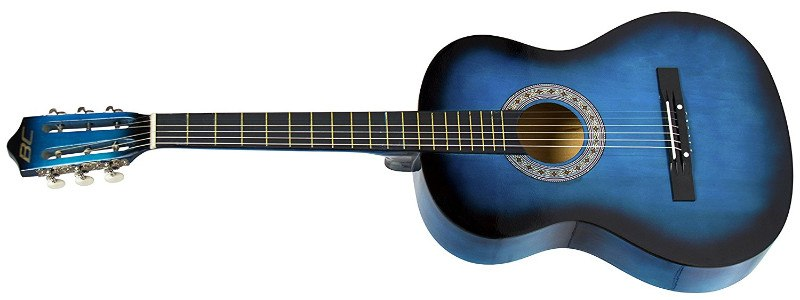Blue Best Choice Products Beginners 38'' guitar