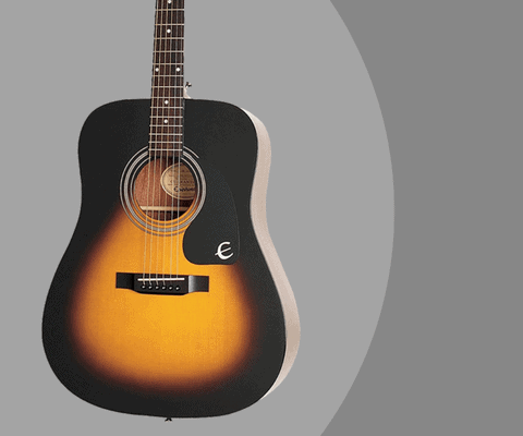 Epiphone Dr 100 Review Acoustic Guitar Specs Size Amp Price