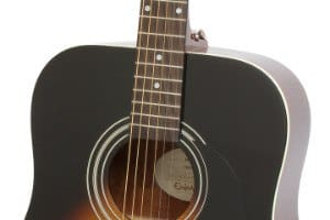 Epiphone DR-100 sound hole