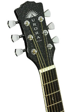 Headstock on Luna Aurora Borealis