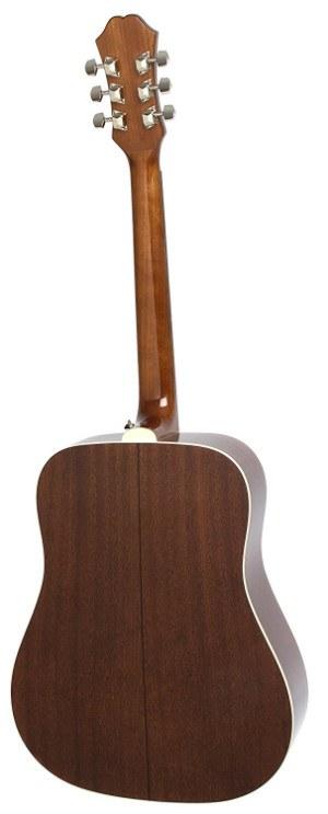 Rear view of Epiphone DR-100 guitar long