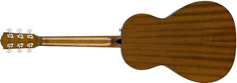 Back of Fender CP-60S Acoustic Guitar