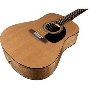 Close up of Seagull S6 Original Acoustic Guitar