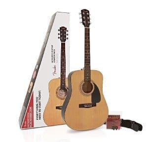 Fender FA-115 Beginner Guitar Pack