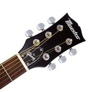 Headstock on Maestro By Gibson (Honey Burst)