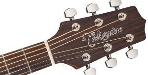 Headstock on Takamine GD20