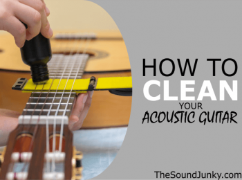 How to Clean an Acoustic Guitar Fretboard, Body & Strings with Common Household Items