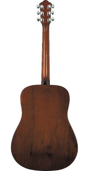 Rear view of Ibanez IJV50 acoustic guitar