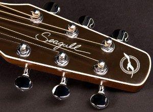 Entourage Acoustic Guitar Head Stock